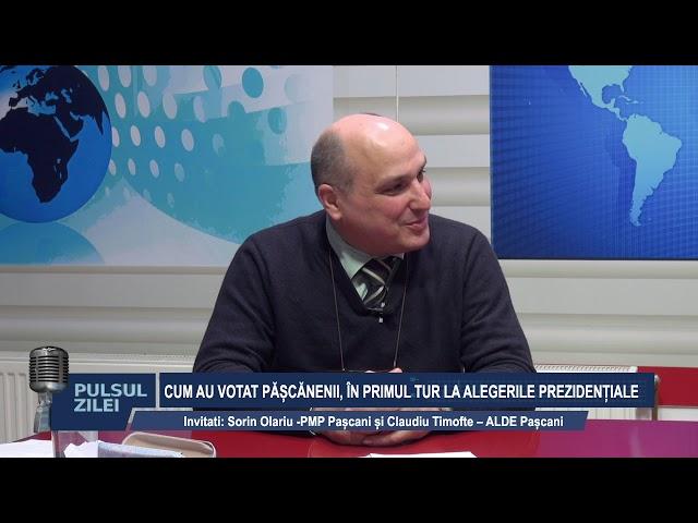 11 NOV PULSUL ZILEI CUM AU VOTAT PASCANENII IN PRIMUL TUR LA ALEGERILE PREZIDENTIALE