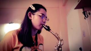 Kung di rin lang ikaw by December Ave. Saxophone by Gem G.
