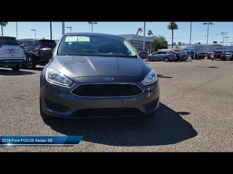 2018 Ford FOCUS Sedan SE Phoenix Tempe Glendale Peoria Chandler