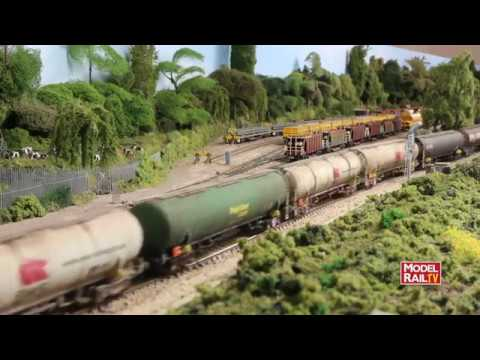 Model Rail magazine layout - Hinksey Yard