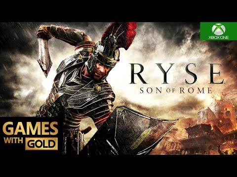Ryse: Son of Rome Xbox One S Gameplay Games With Gold HD 1080p