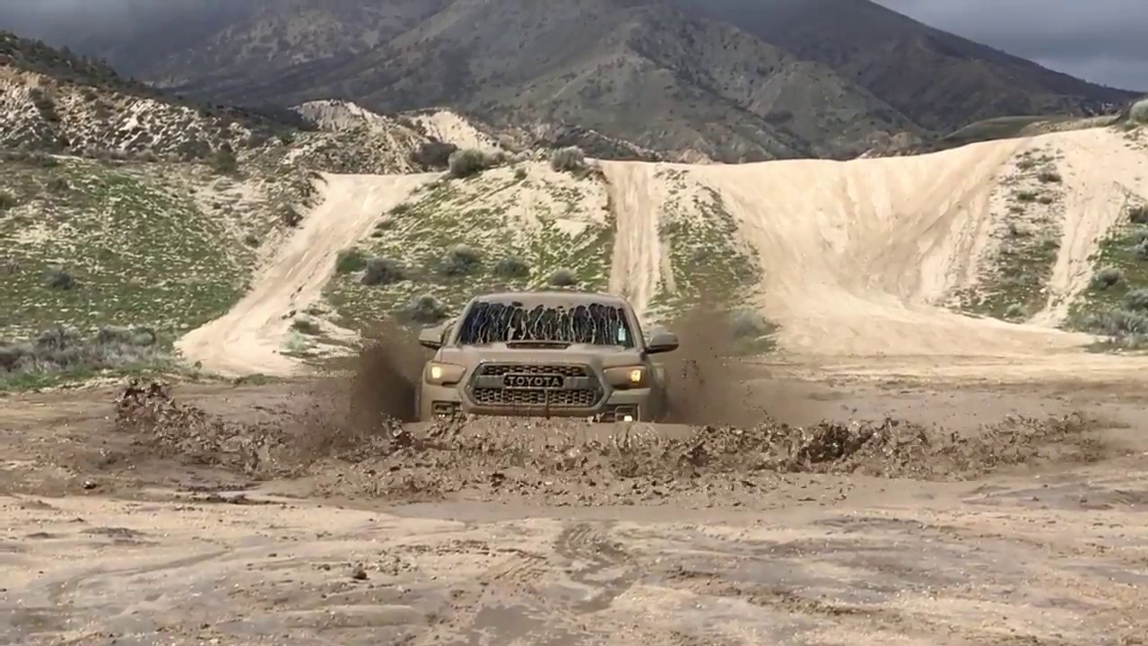 2017 Toyota Tacoma TRD Pro 4x4: Show Me The Muddy