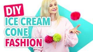 DIY Ice Cream Cone Fashion - HGTV Handmade