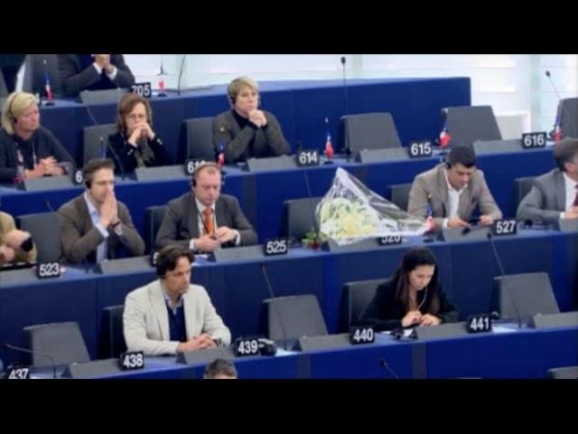 Hommage à Édouard Ferrand au Parlement européen (05/02/2018)