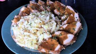 Как приготовить сочное филе индейки в духовке. Блюда из филе индейки.