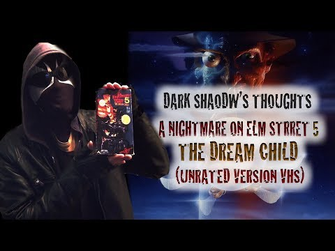 Dark Shadow's Thoughts: A Nightmare on Elm Street 5: The Dream Child (vhs unrated version)