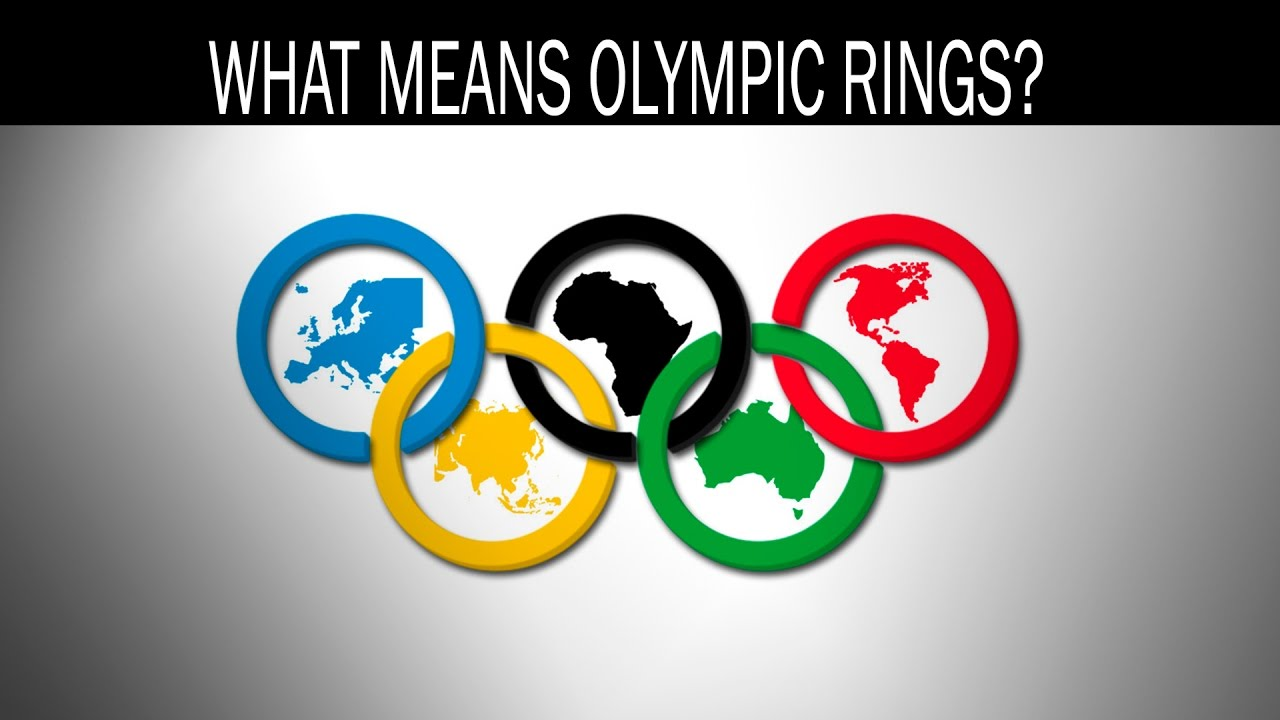 What Do The Olympic Rings Mean Youtube