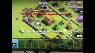 Clash of Clans #1 ,All barbarian raide + custom lego barbarian minifigure