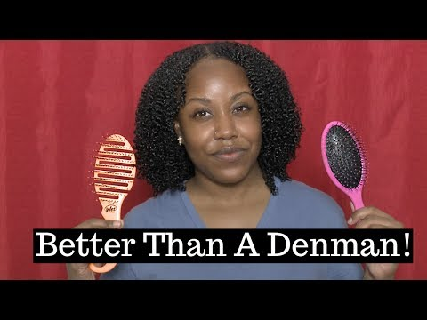 The BEST Detangling Brushes For Fine Natural Hair | WET Brush Review