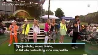 Alexander Rybak and Superbarna - Dyrene i Afrika - Allsang på grensen 04.07.2013