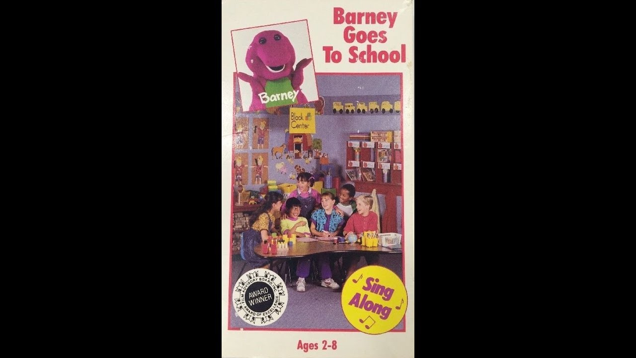 opening u0026 closing to barney goes to 1992 vhs youtube