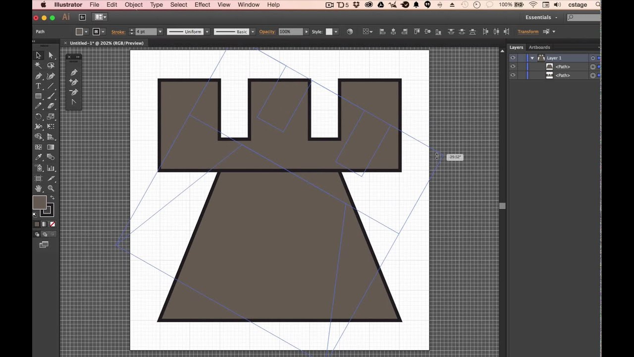how to add a point with pen tool illustrator