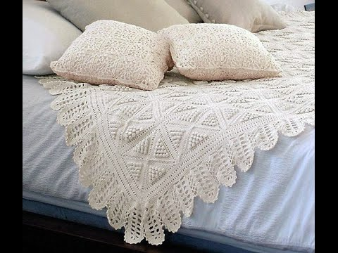 Crochet Patterns For Free Crochet Bedspread 1704 Youtube