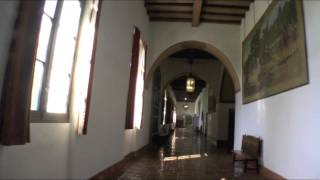 (HD) Amazing landmark: The Historic Santa Barbara Courthouse & Belltower