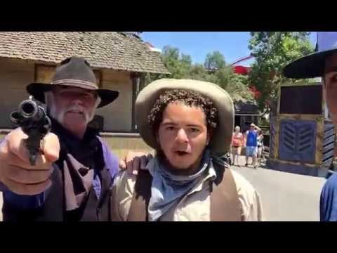 Don Knotts and the Shady Sheriff at Knotts Berry Farm