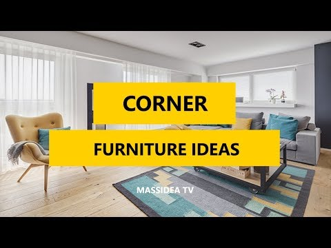 50+ Awesome Corner Furniture Ideas for Living Room 2017 ...