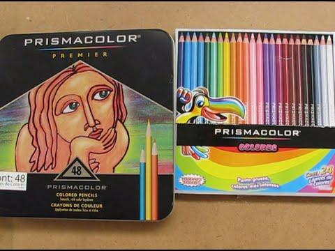 Cómo mezclar colores prismacolor - YouTube