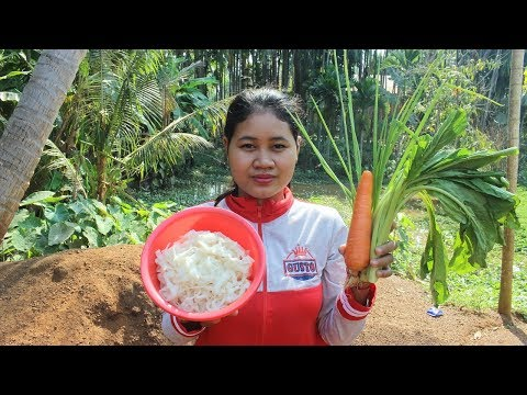 Street Food Chiness nable Recipe - Fried Chiness nables - Village Food Factory