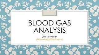 Video Ini Membahas Mengenai Bagaimana Cara Melakukan Analisa Gas Darah atau Blood Gas Analisis (BGA).