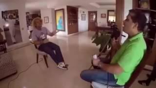 Pibe Valderrama en Entrevista con Sergio Garcia