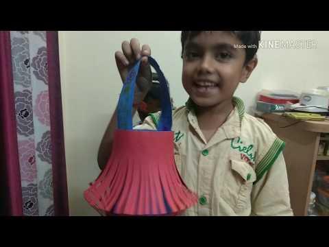 How to make diwali lamp