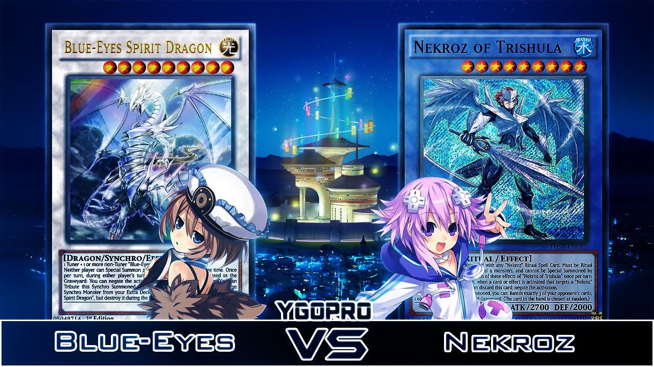 ygopro quick replay vs maykite88 blue eyes white dragon vs