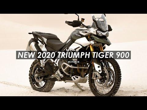 New 2020 Triumph Tiger 900 GT Pro & Rally Pro Announced
