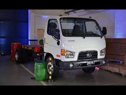 Lanzamiento Camin Hyundai HD78 en Argentina