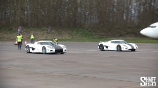 видео Koenigsegg Agera и Agera R