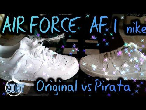 Nike air force one como diferenciar una Zapatilla original