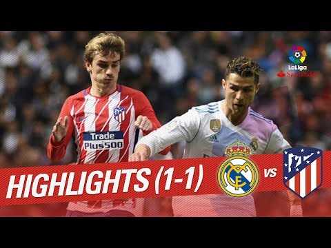 Resumen de Real Madrid vs Atlético de Madrid (1-1)