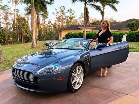 SOLD Aston Martin Vantage Miles For Sale By Autohaus Of - Aston martin naples