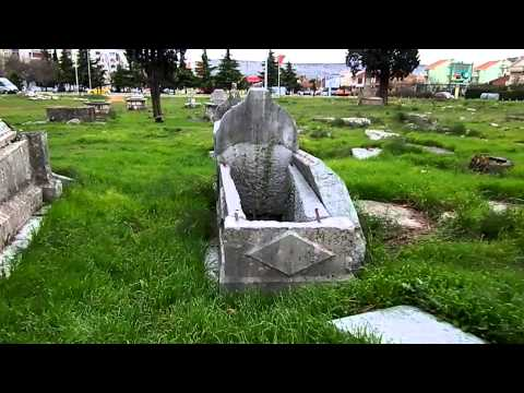 Looted cemetery in Podgorica (Montenegro), next to the Cathedral (incredible images)