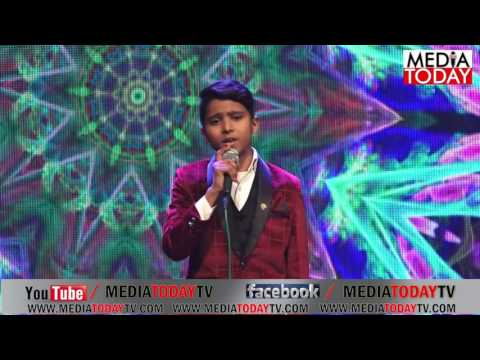 amaging song by Little Boy    Mere Dholna sun mere pyar ki Dhun Event by Media Today