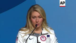 Olympic gold medalist Shiffrin: I'm no Michael Phelps