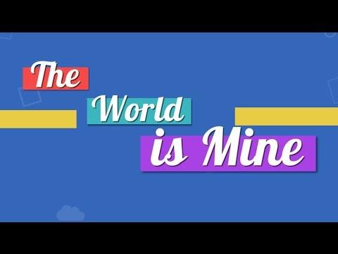 Mario Lucian Andreano - The world is Mine [Lyrics Video]