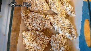 Куриное филе в овсянке/Правильное питание