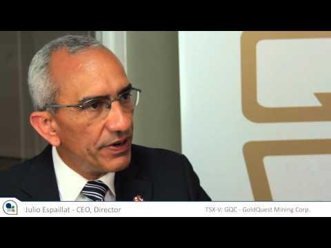 GoldQuest CEO Julio Espaillat discusses Geology at Las Tres Palmas Dominican Republic Property
