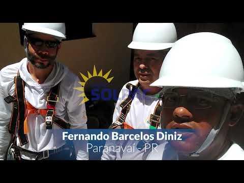 Instalação do GRUPO SOLPAC 2019 - Fernando Barcelos Diniz - Paranavaí - PR