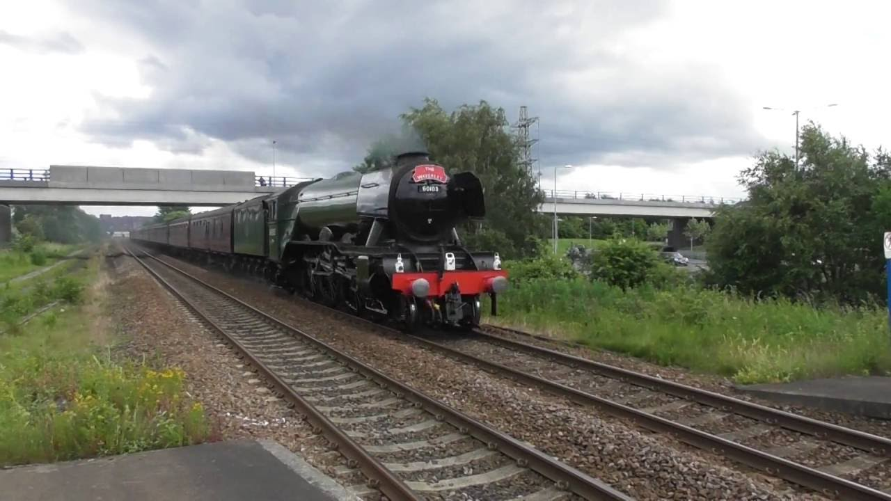 LNER A3 Pacific No  60103 'Flying Scotsman' - 2016 Video Compilation