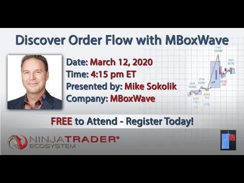 MBoxWave Official NinjaTrader Webinar – March 12 2020