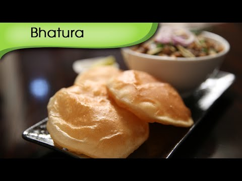 Bhatura | Popular Indian Breakfast / Lunch / Dinner Recipe By Ruchi Bharani