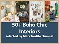50+ Boho Chic Interiors - Bohemian Home Decor Ideas