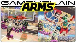 ARMS - Hoops Mode w/ Kid Cobra (Nintendo Switch Gameplay )