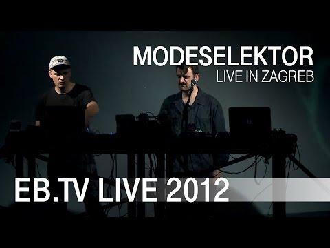 Modeselektor live in Zagreb (2012)