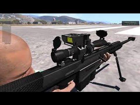 ARMA 3 (.50 cal/12.7 mm sniper)