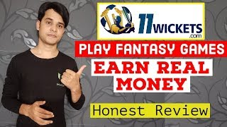 11 Wickets Cricket Fantasy Game App to Earn Real Money | Honest Review | 11wickets.com