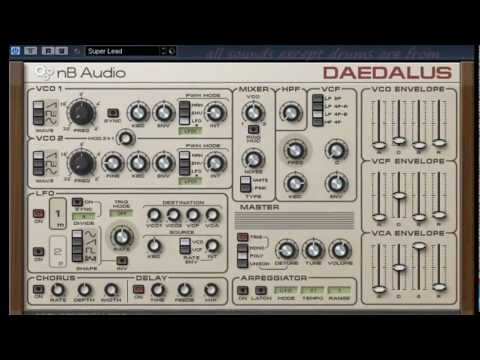 DAEDALUS - Free VST - myVST Demo