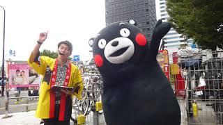 中野にぎわいフェスタにくまモン登場@中野サンプラザ2017/10/07