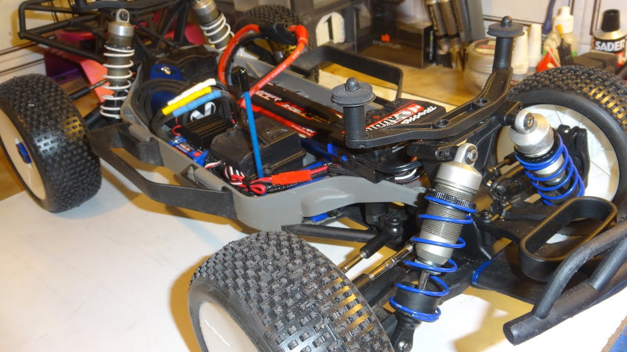 Traxxas Slash 4WD Upgrade Big Bore Shocks - Amortisseurs Mugen